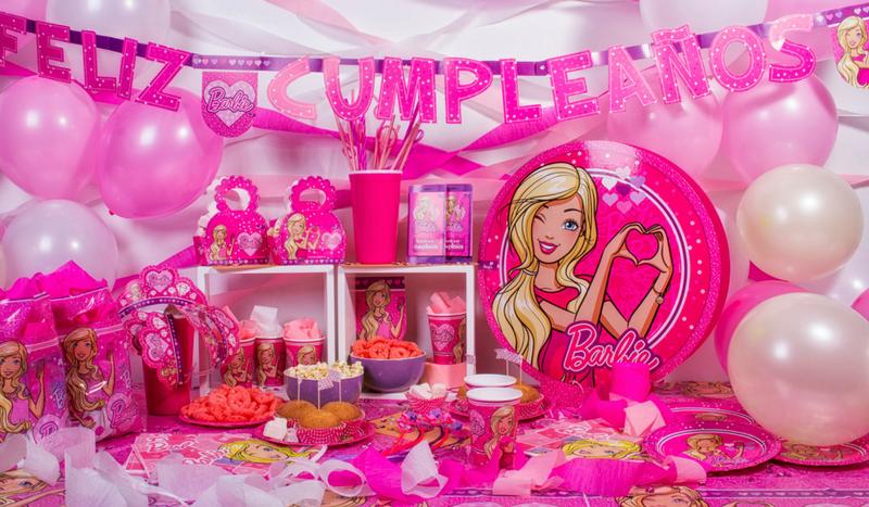Decora Tu Cumpleanos Con Festones Barbie Paso A Paso Blog Argos - Decorar-cumpleaos