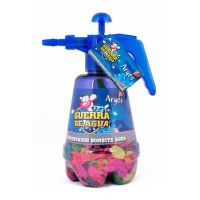 guerra de agua dispensador bombita