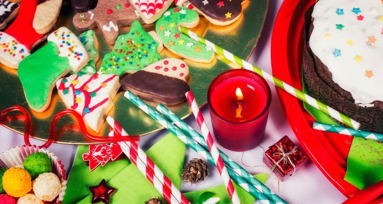 mesa-dulce-navidena-bombillas