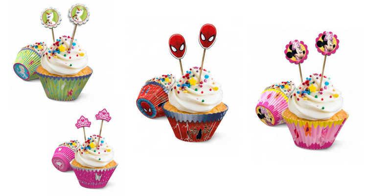 Cupcakes para cumpleaños superhéroes
