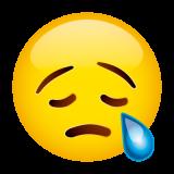Emoticones de cumpleaños carita llorando