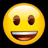 Emoticones de cumpleaños carita sonriente