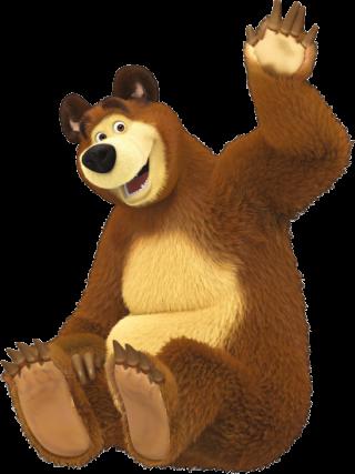 Personajes de Masha y el oso 2