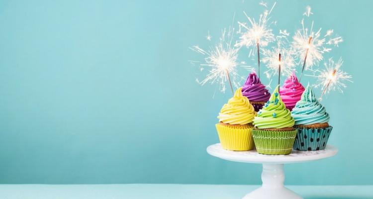 velas de cumpleaños luminosas estrella fugaz
