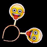 cotillon emoji cintillos