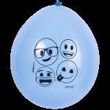 cotillon emoji globo azul