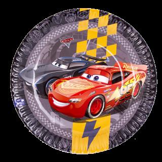 platos cumpleaños cars 3 con diseño de McQueen