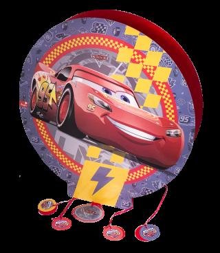 Piñata 3D cumpleaños cars 3