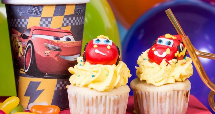 decoración cars cupcakes cumpleaños