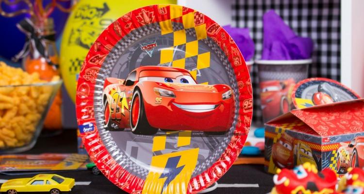 decoracion cars plato Rayo McQueen