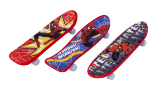 sorpresas para cumpleaños infantiles skates spiderman