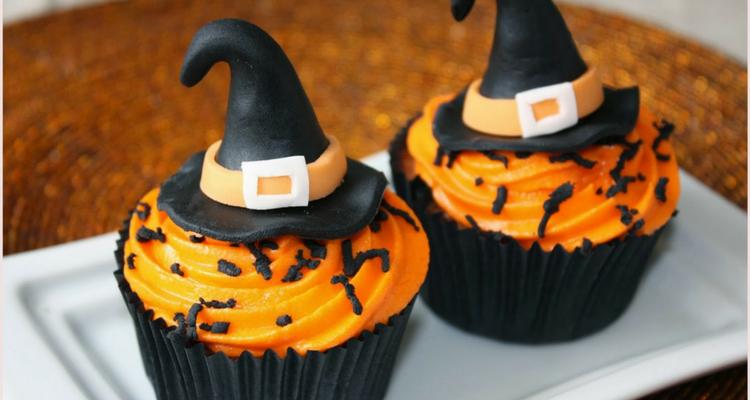 decoración para halloween cupcakes