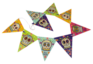 guirnalda triangular ideas para halloween