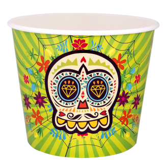 vaso pop corn ideas para halloween