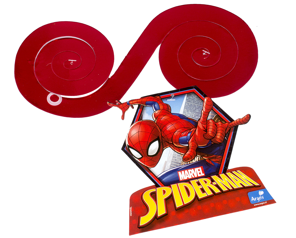 Decoración de Spiderman Home Decotecho