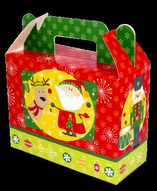 decoración de navidad caja galletas