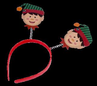 decoración de navidad cintillos