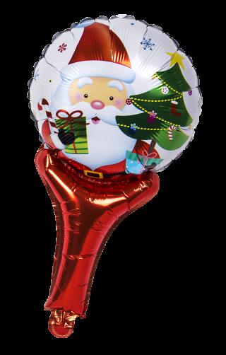 decoración de navidad globo nylon pascuero mango