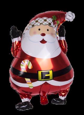 decoración de navidad globo nylon pascuero up