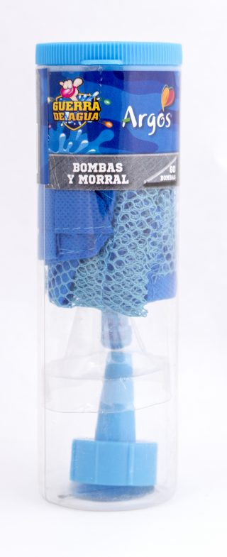 Tubo Morral bombitas de agua