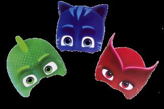 cumpleaños pj masks máscara