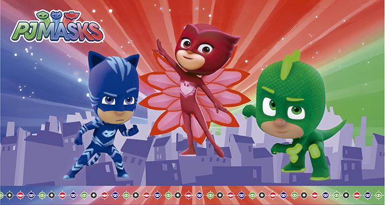 c0d9808a81 Cumpleaños Pj Masks  Ideas de decoración de Héroes en Pijamas