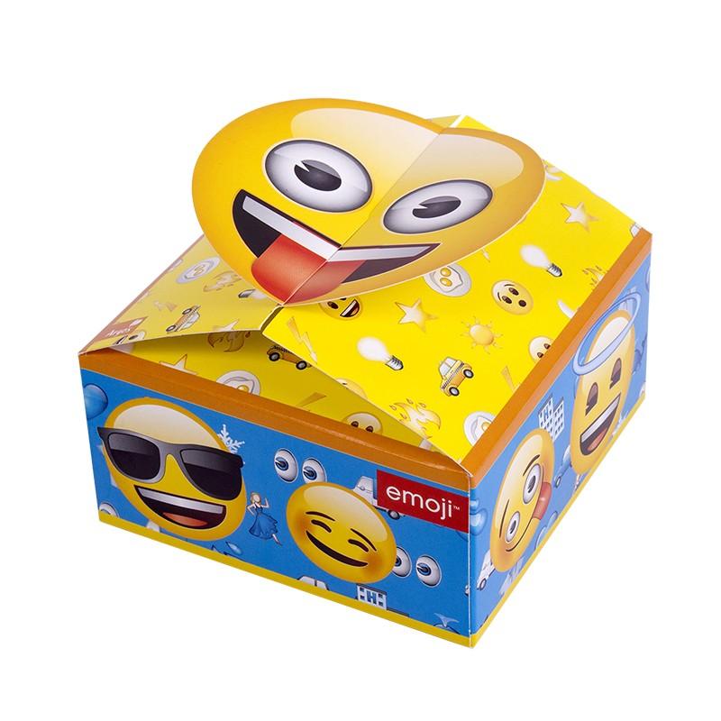 caja sorpresas de cumpleaños emojis