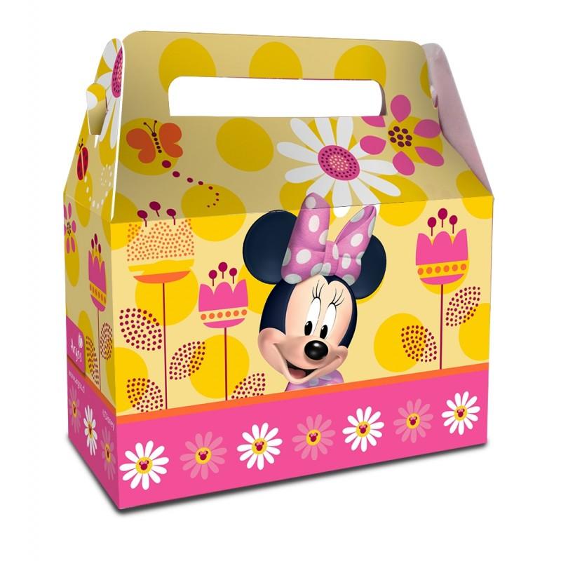 caja sorpresas de cumpleaños minnie
