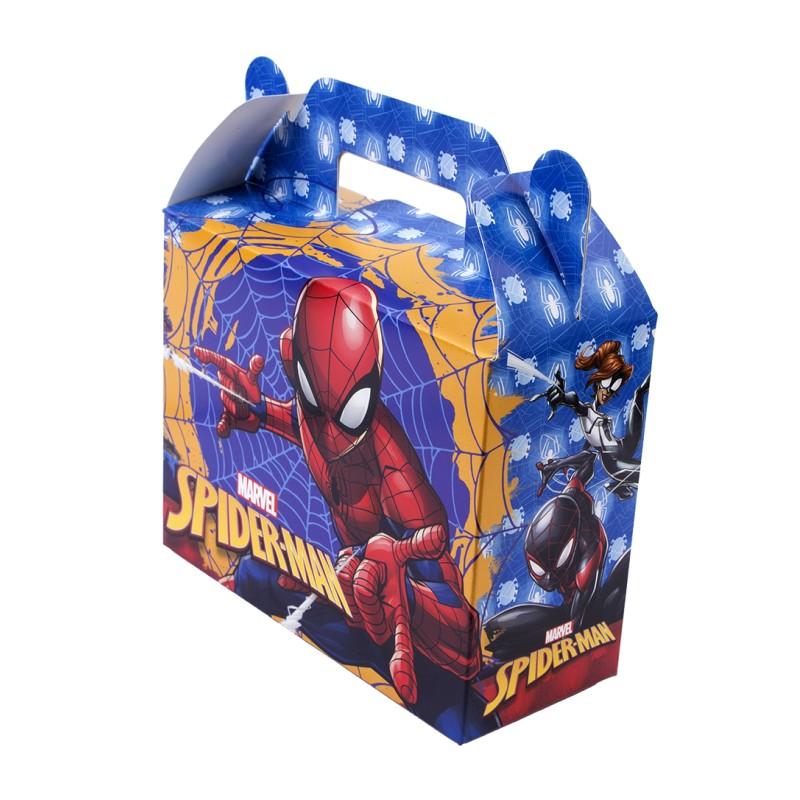 caja sorpresas de cumpleaños spiderman