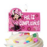 cumpleaños de minnie vela 2d