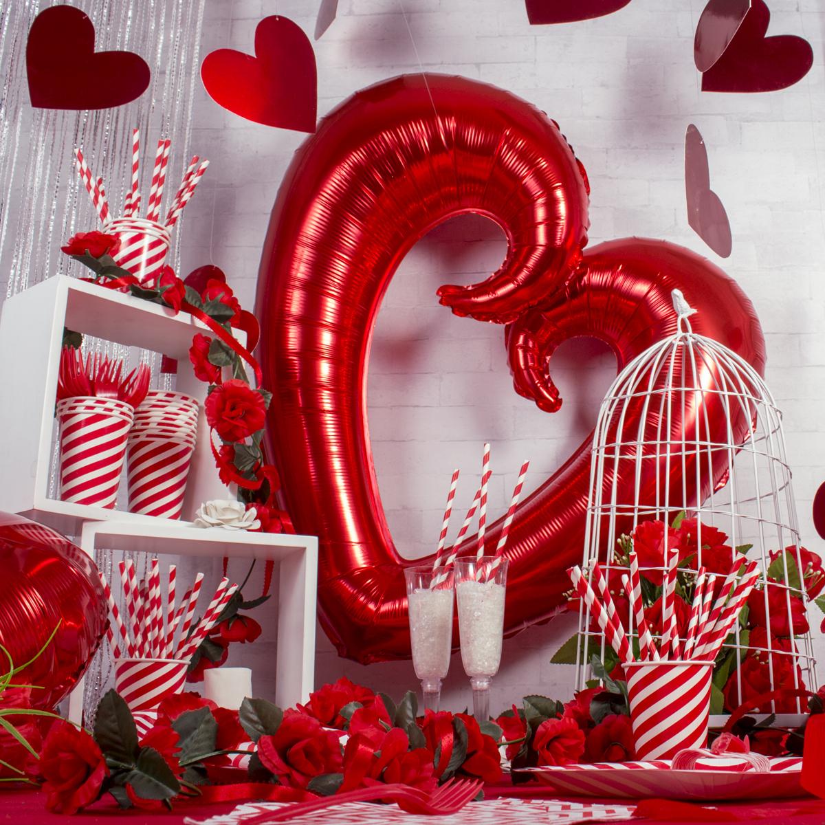 decoración día de los enamorados