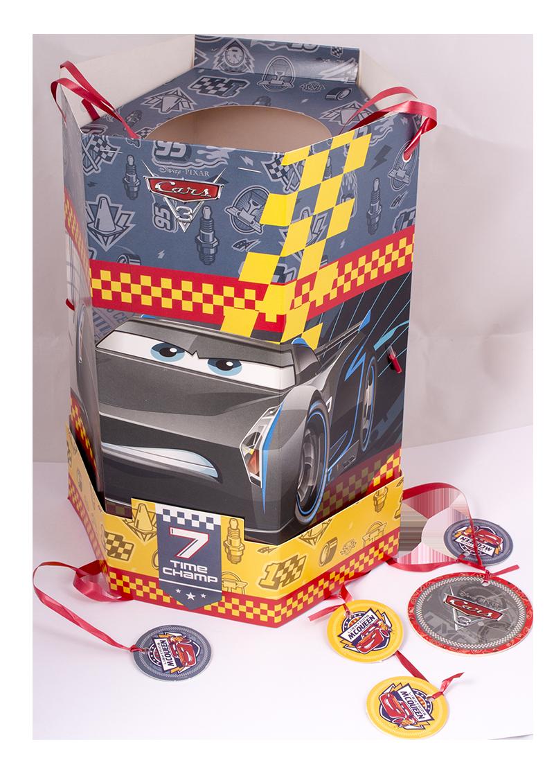 piñatas de cumpleaños cars
