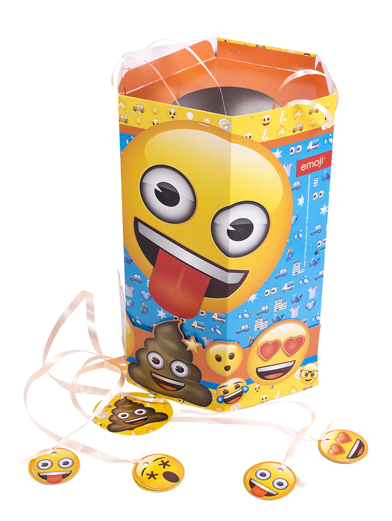 piñatas de cumpleaños emojis
