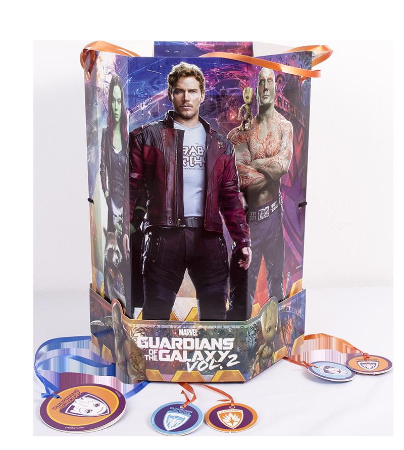 piñatas de cumpleaños guardianes de la galaxia