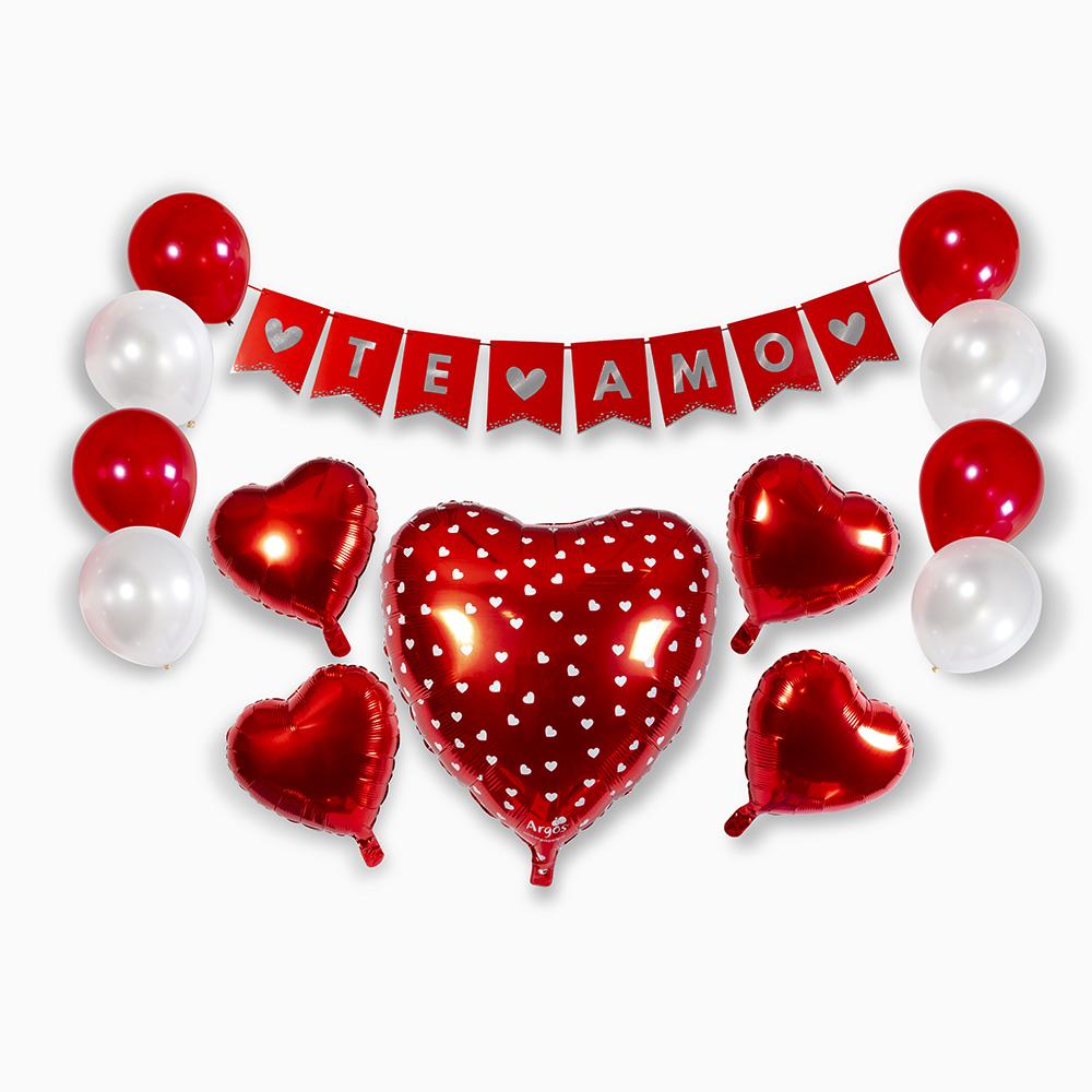 set decoracion te amo ideas para el dia de los enamorados