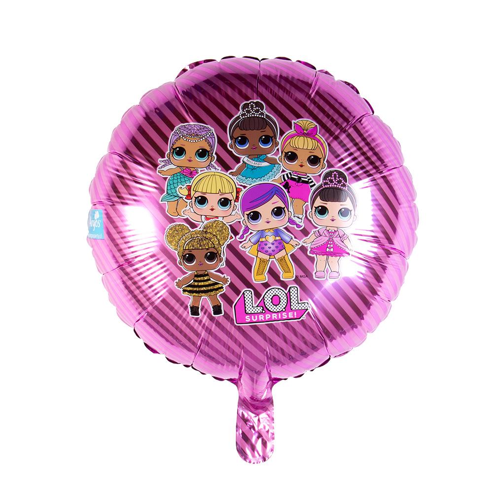 muñecas lol surprise globo metalizado