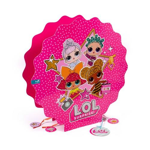 muñecas lol surprise piñata 3d