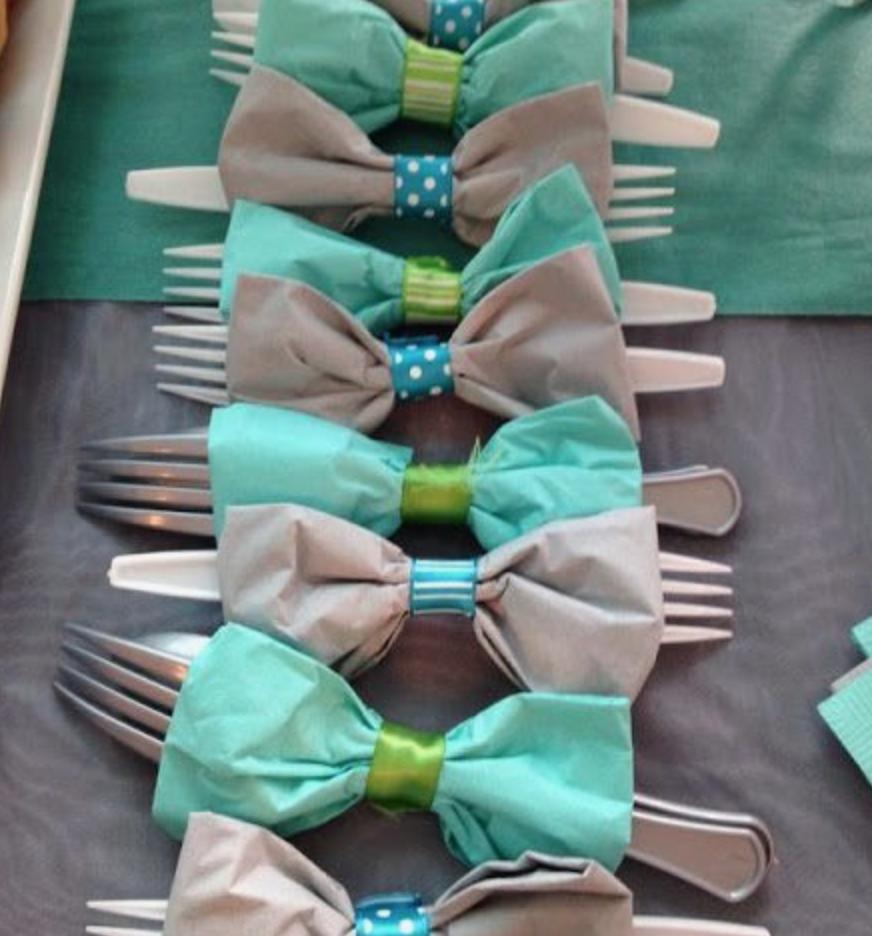 ideas para cumpleaños servilletas