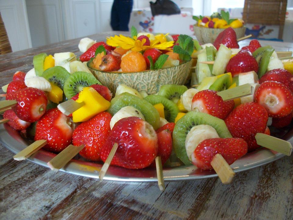 ideas para cumpleaños frutas