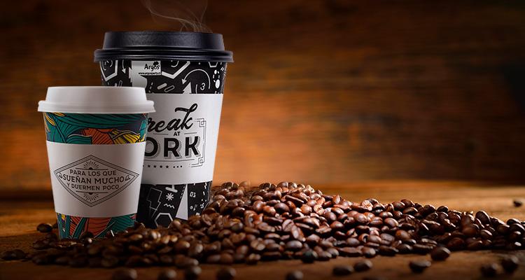 cafe en granos para desayunar