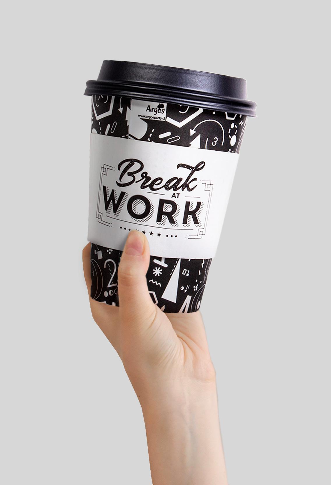 vaso para cafe en grano para oficina