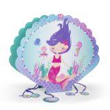 piñata 3d sirena fiesta de cumpleaños
