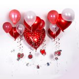 globos en la pared san valentin 2020 dia del amor