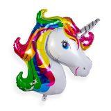 decoracion de unicornio globo con forma