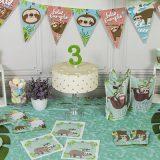 decoracion para cumpleaños perezoso